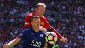 HD Wayne Rooney Manchester United Robert Huth Leicester City 07082016
