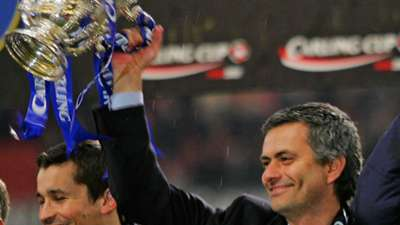 7 Jose Mourinho League Cup 2005