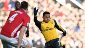 HD Alexis Sanchez Arsenal Phil Jones Manchester United