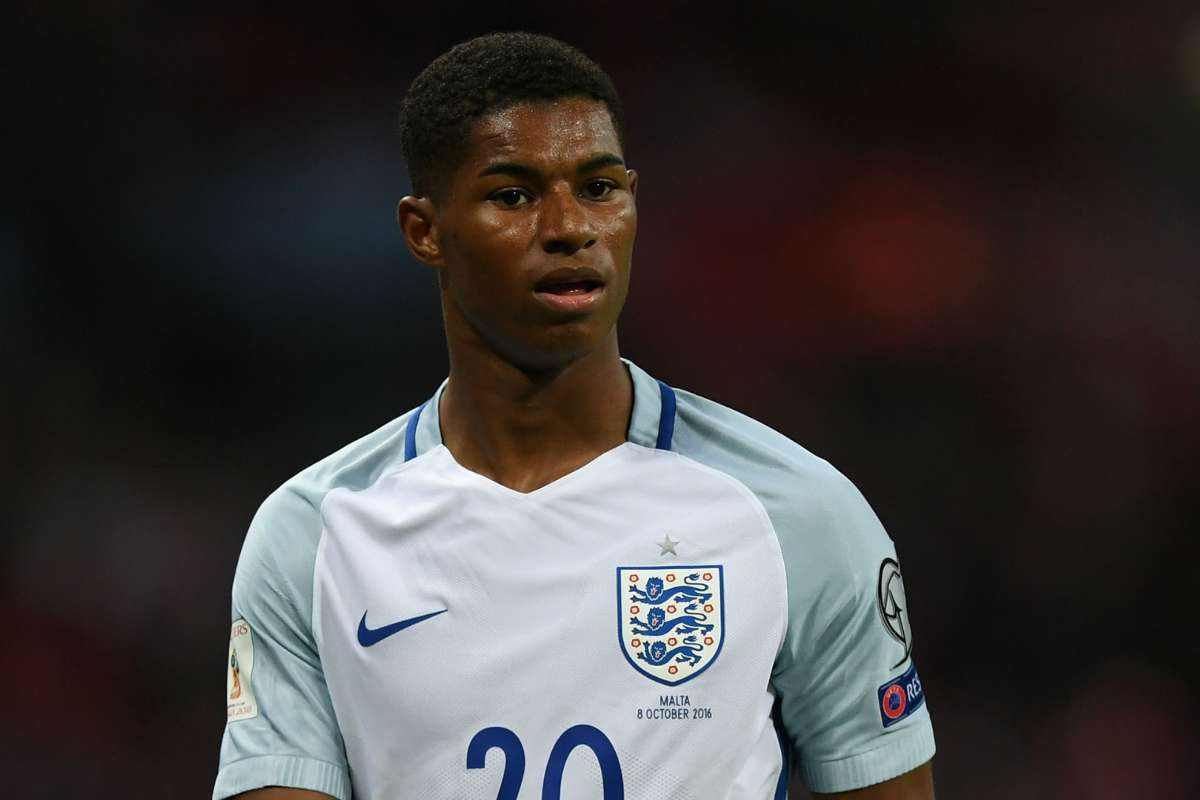 Manchester United Forward Marcus Rashford Wants Central Role But Alan Shearer Sees Him Facing England Frustration Goal Com