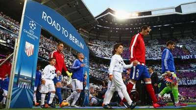 Line Ups Real Madrid Atletico Madrid Champions League 22042015