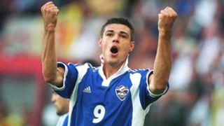 Savo Milosevic at Euro 2000