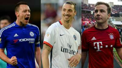 Ibrahimovic, Terry and the top 25 players set for summer goodbyes