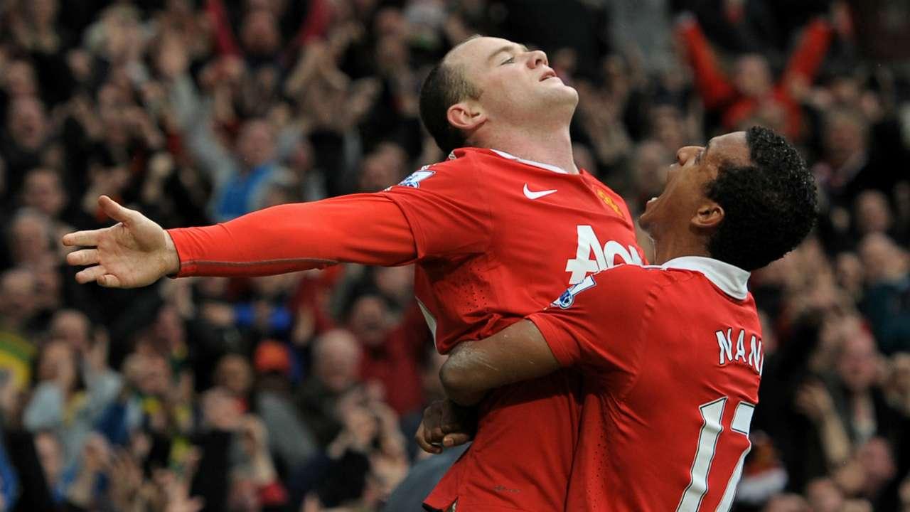 Wayne Rooney Manchester United Manchester City Premier League 2011