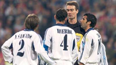 Real Madrid Champions League exit 2001