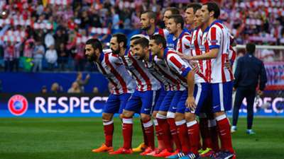Line Up Atletico Madrid Real Madrid Champions League 14042015