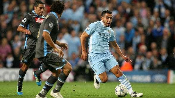 Manchester City 1-1 Napoli 2011