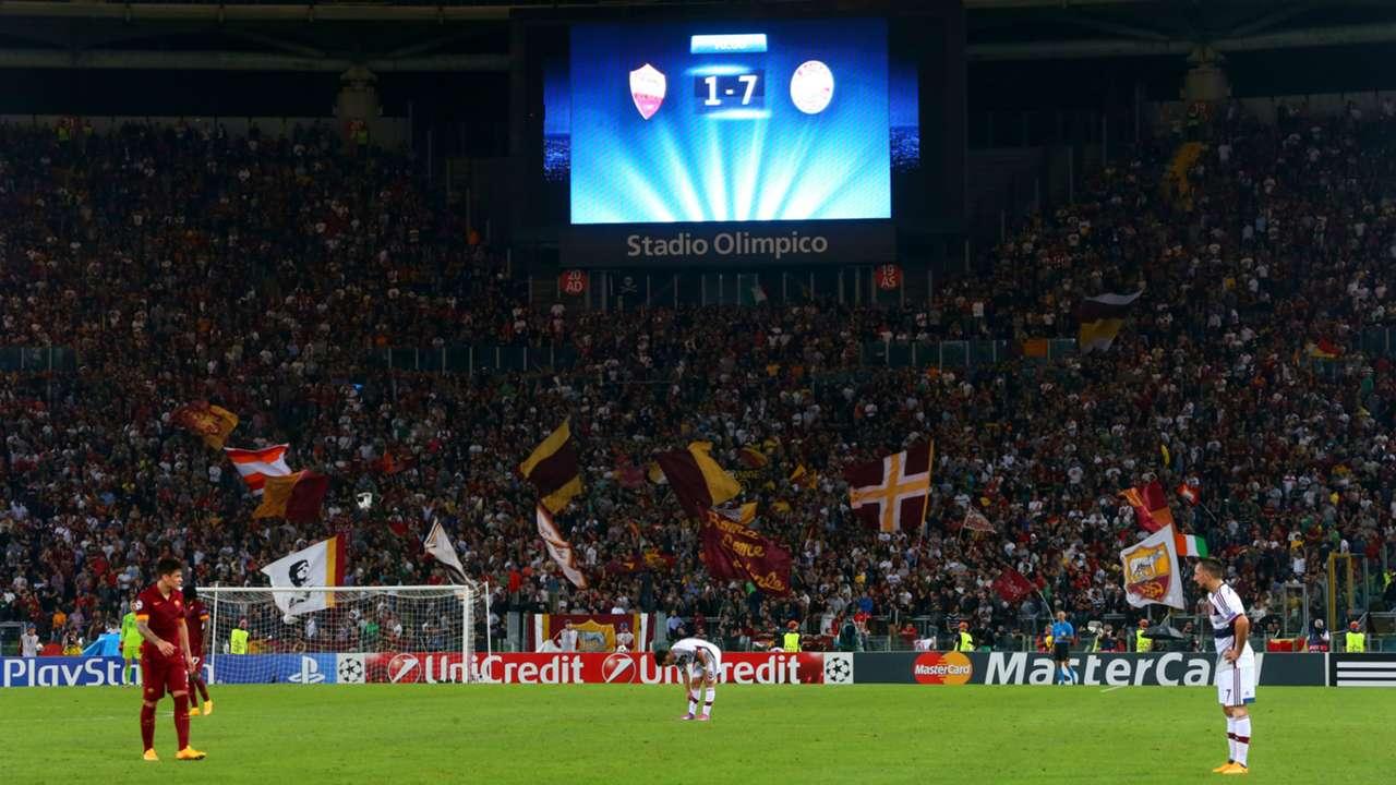Roma Bayern Munich Champions League