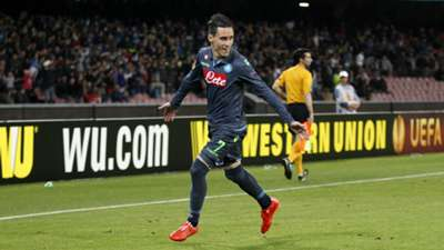 Jose Callejon Napoli Europa League