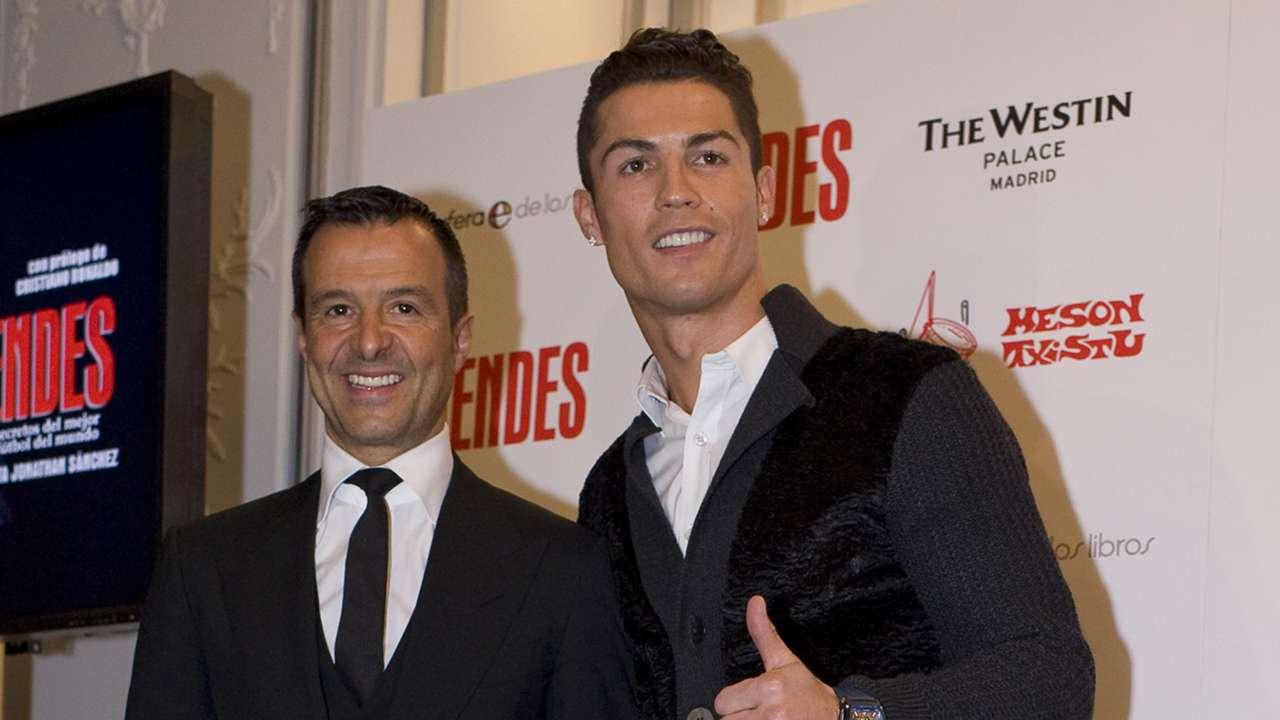 Cristiano Ronaldo Jorge Mendes Book Launch