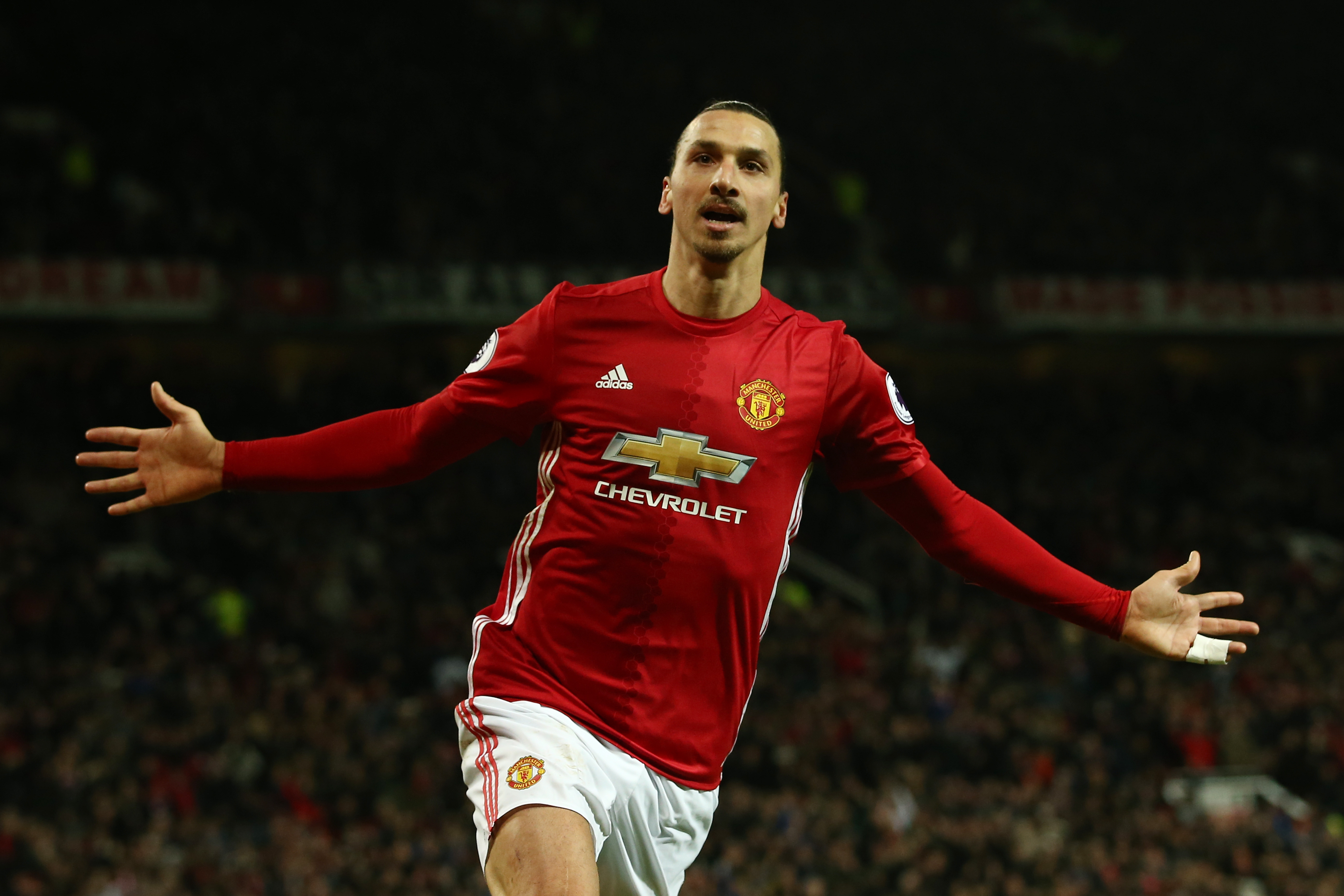 Manchester United Zlatan Ibrahimovic In Superb Shape And