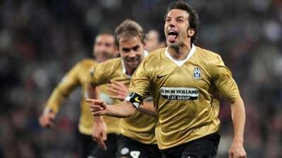 Alessandro Del Piero Juventus Champions League