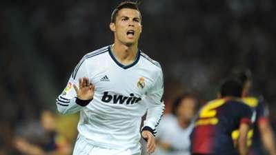 Cristiano Ronaldo Real Madrid Barcelona 2012 Liga