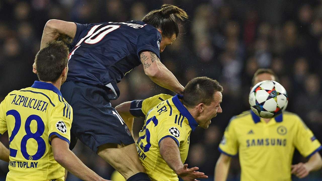 Zlatan Ibrahimovic PSG Chelsea Champions League 17022015