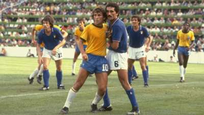 Zico Italy Brazil 1982 World Cup