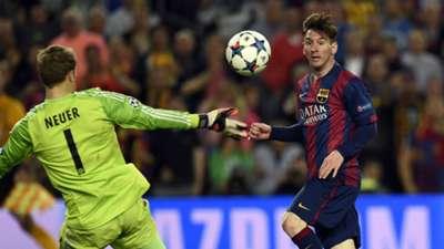Lionel Messi Barcelona Bayern Munich Champions League 06052015