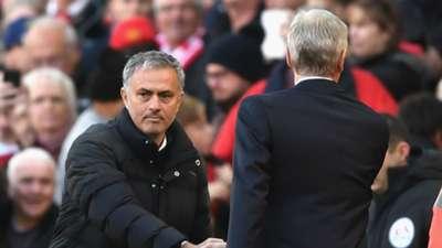 HD Jose Mourinho Manchester United Arsene Wenger Arsenal