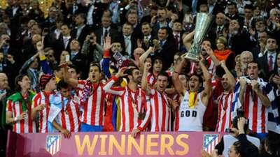 Atletico Madrid Europa League 2012