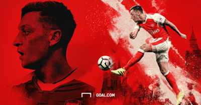 GFX Mesut Ozil Arsenal