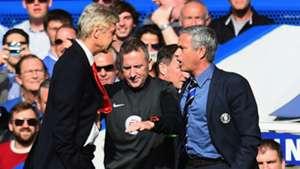 Jose Mourinho Arsene Wenger Chelsea Arsenal