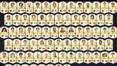 FIFA 17 Ultimate Team legends