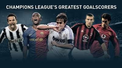 Champions League goalscorers