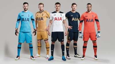 Tottenham kit 2016-17