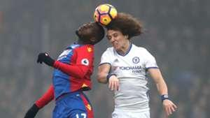 Christian Benteke Premier League Crystal Palace v Chelsea