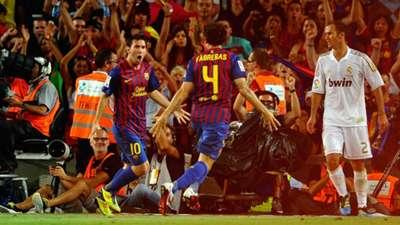 Lionel Messi Barcelona Real Madrid Supercopa 2011