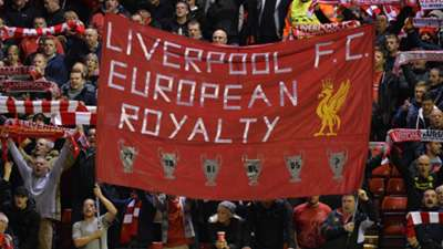 Anfield Banner Champions League 22102014