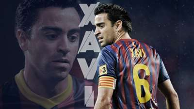 Gallery: Xavi's Barcelona career in pictures