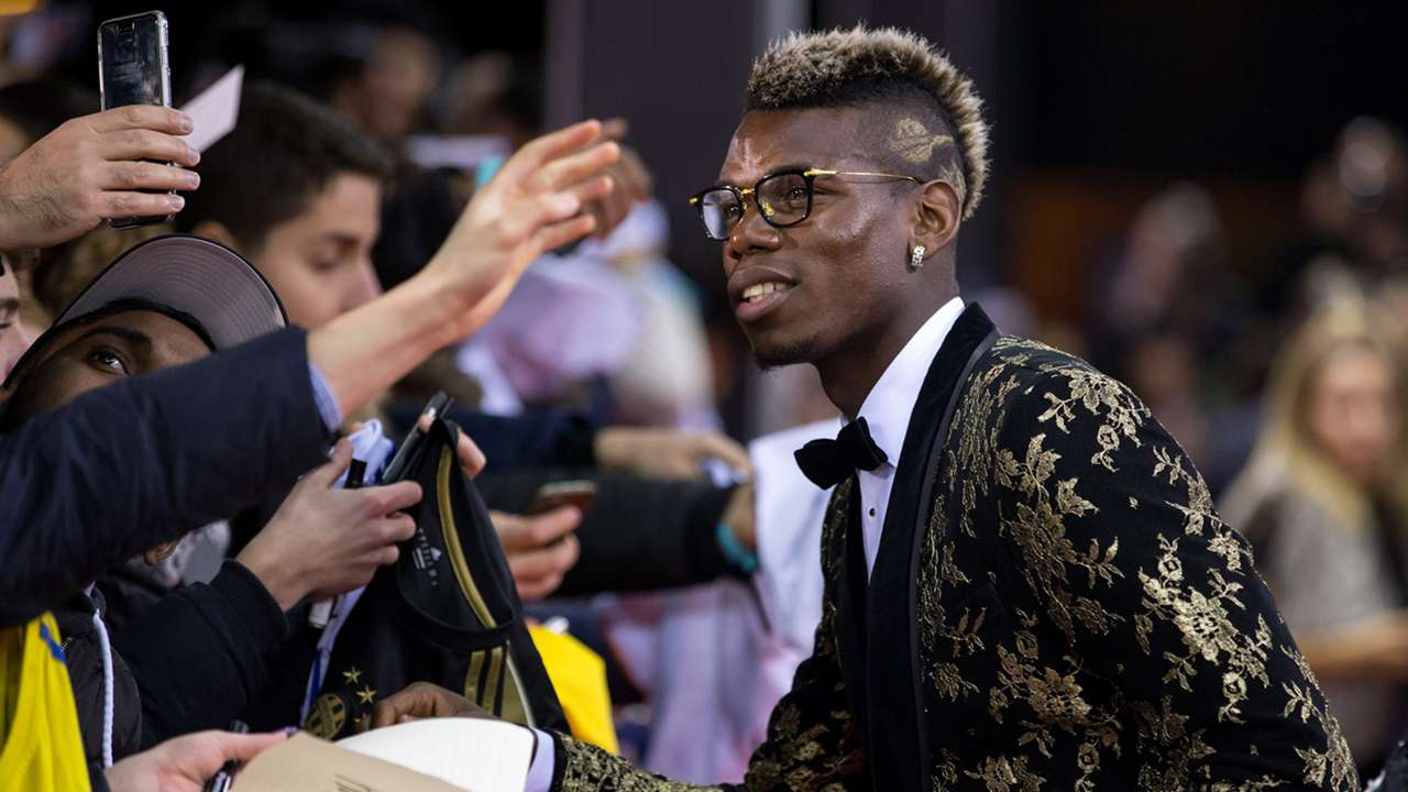 Forget the Oscars: Football stars dress to impress on Ballon d'Or red carpet