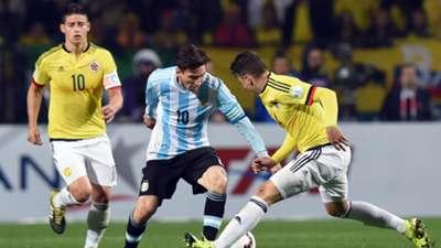 Lionel Messi Argentina Colombia Copa America