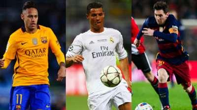 Neymar Ronaldo Messi