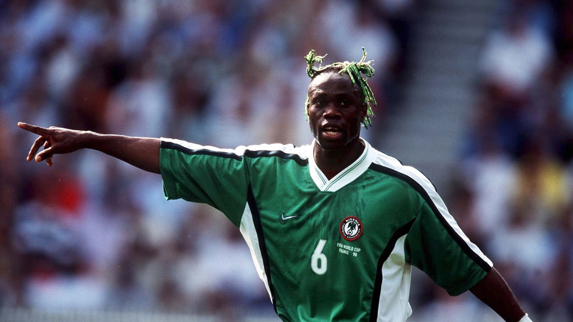 'Some players slept with women before Nigeria-Denmark game' – West makes 1998 World Cup confession