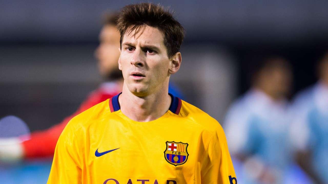 Lionel Messi Celta Vigo Barcelona La Liga 23092015