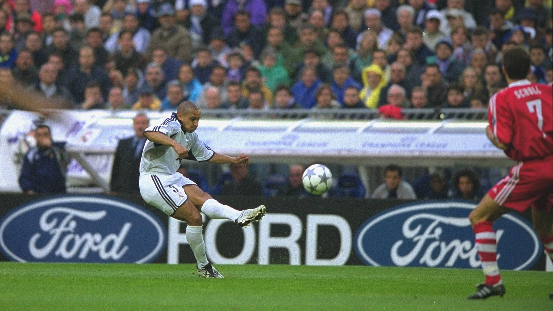Roberto Carlos Real Madrid Champions League