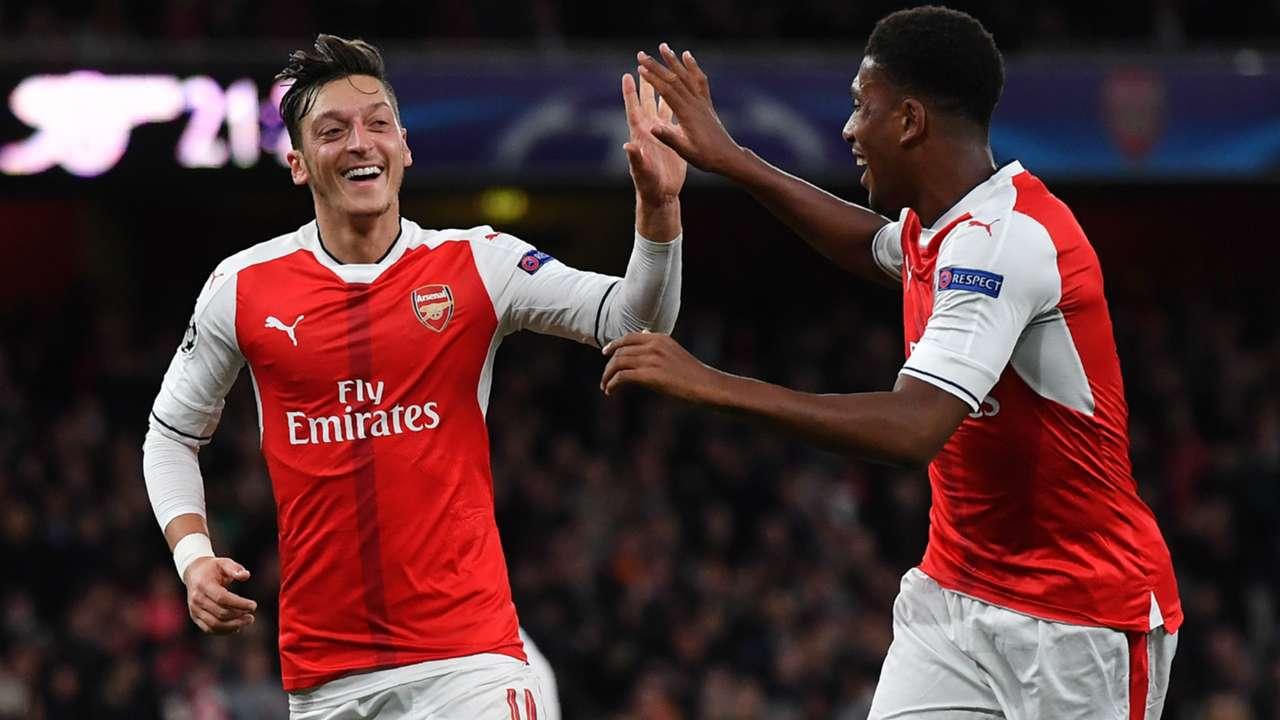 Mesut Ozil Arsenal Champions League 2016