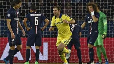 Branislav Ivanovic PSG Chelsea Champions League 17022015