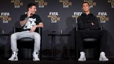 Ronaldo Messi 2015 Ballon d'Or