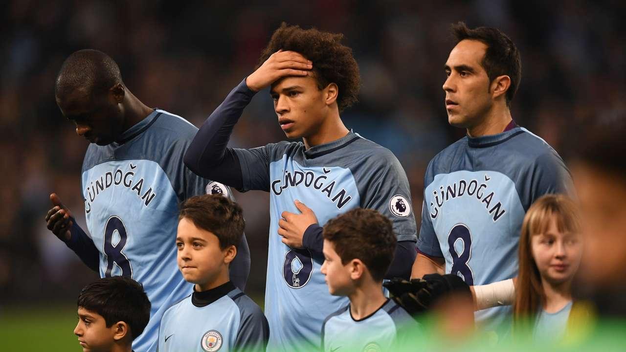 Ilkay Gundogan shirts Manchester City