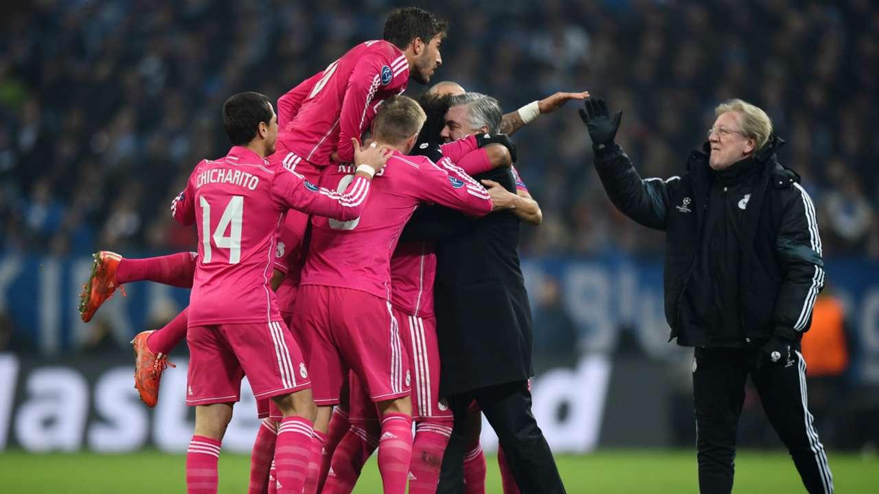 UCL Marcelo Madrid Schalke