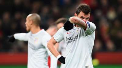 Mario Mandzukic Atletico Madrid Bayer Leverkusen Champions League 25022015