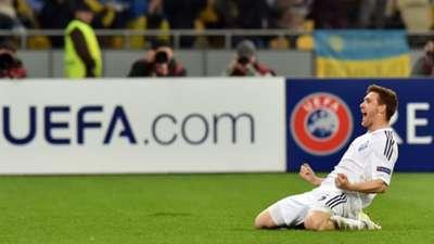 Antunes Dynamo Kiev Europa League