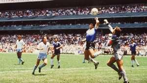 Maradona hand of god