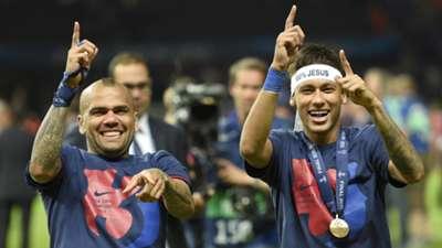 Neymar Barcelona celebrate Juventus Barcelona Champions League final 06062015