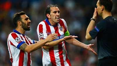Diego Godin Real Madrid Atletico Madrid Champions League 22042015