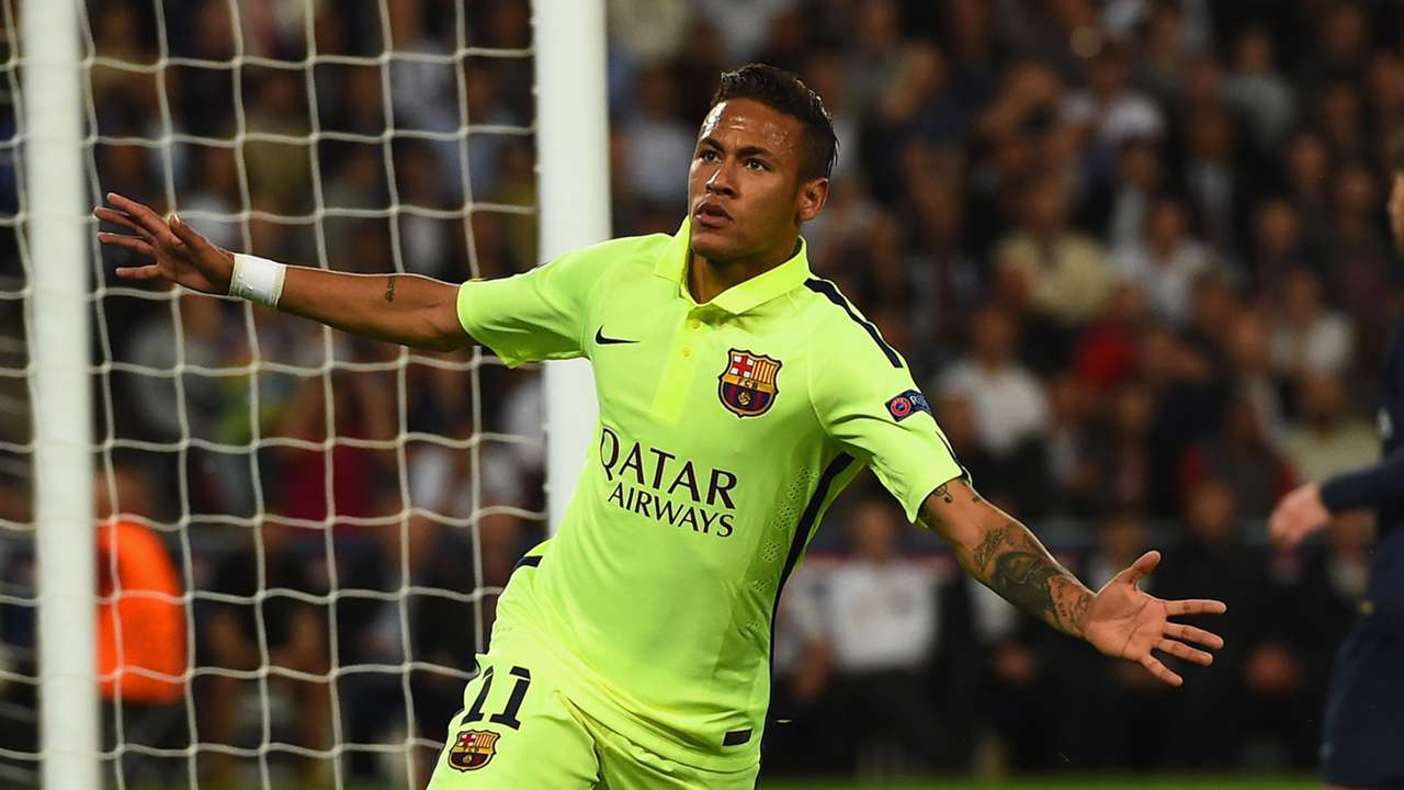 Neymar Paris Saint Germain Barcelona Champions League 15042015