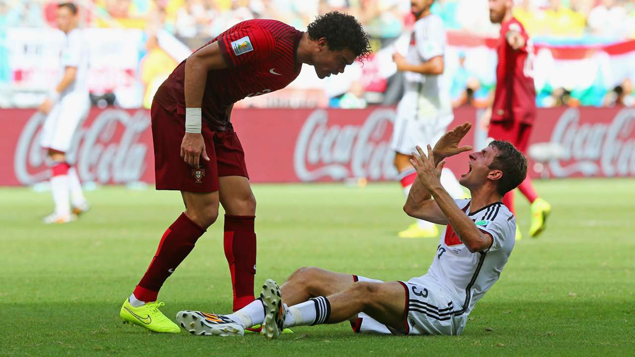 Pepe Thomas Muller Portugal Germany 2014 World Cup