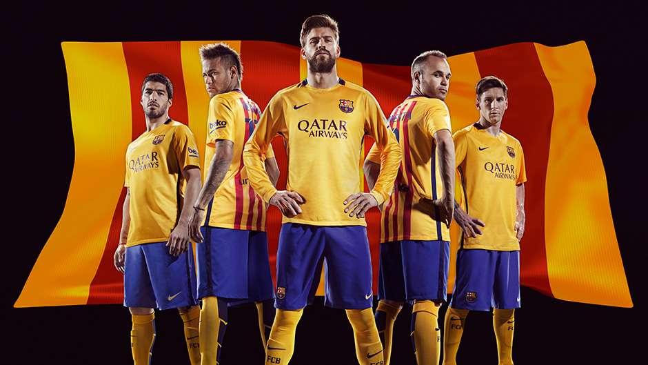 Barcelona 2015 2016 Kit Nike